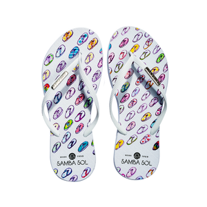 Samba Sol Women's YoungArts Collection Flip Flops - Isabela Dos Santos-Samba Sol