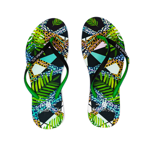 Women's Beach Collection Flip Flops - Jungle