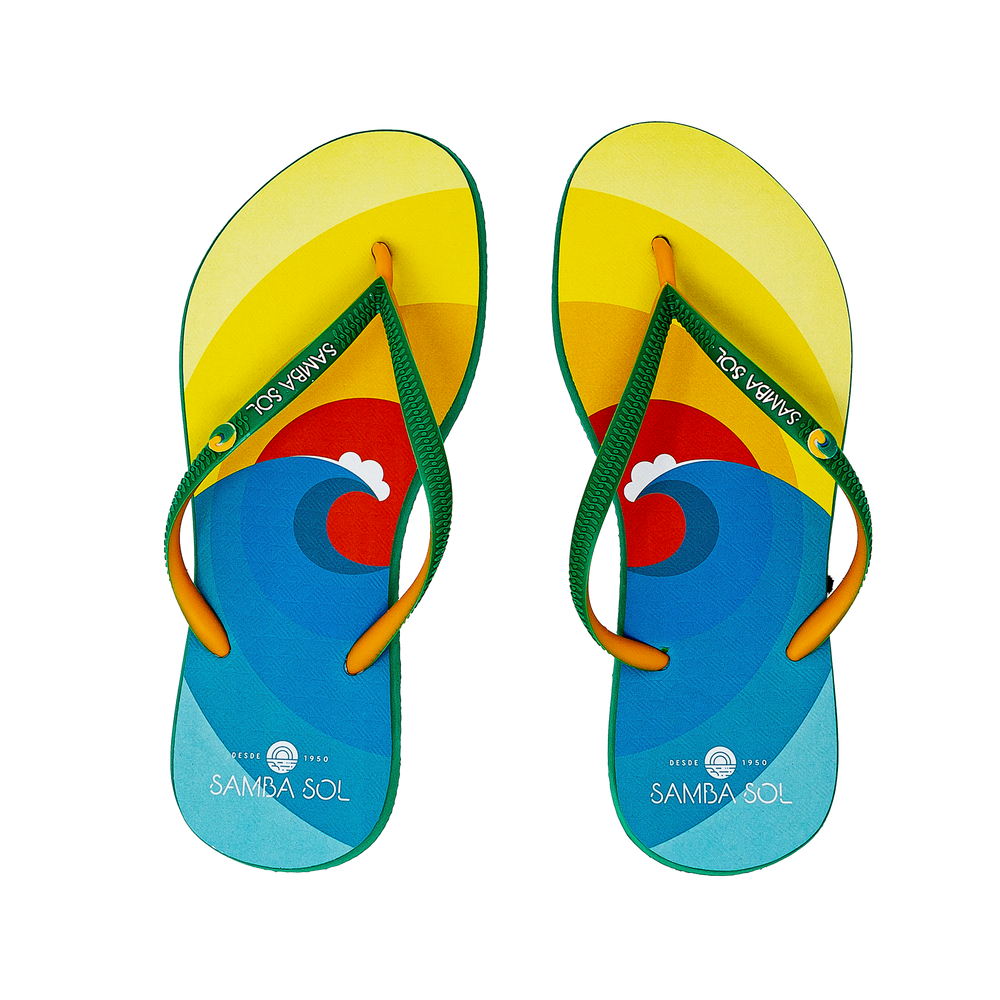 Women's Beach Collection Flip Flops - Surf