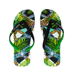Samba Sol Men's Beach Collection Flip Flops - Jungle