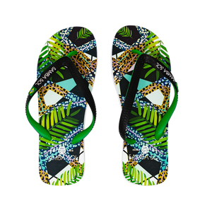 Men's Beach Collection Flip Flops - Jungle
