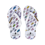 Samba Sol Kid's YoungArts Collection Flip Flops - Isabela Dos Santos