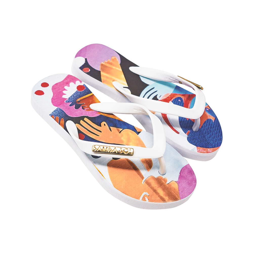 YoungArts Kids Collection Flip Flops - Nadia Wolff