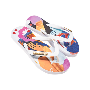Samba Sol Kid's YoungArts Collection Flip Flops - Nadia Wolff-Samba Sol