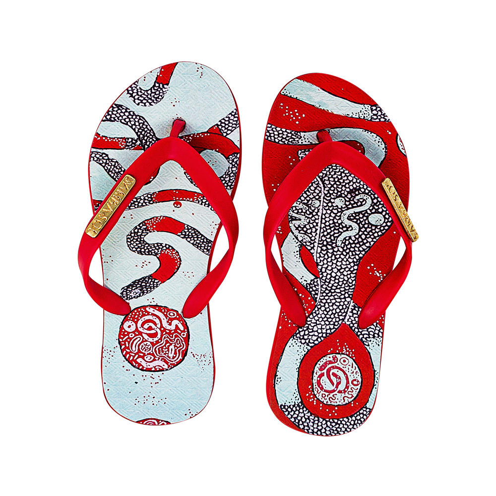 YoungArts Kids Collection Flip Flops - Panteha Abareshi