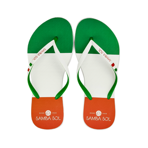 Samba Sol Women's Countries Collection Flip Flops - Italy-Samba Sol