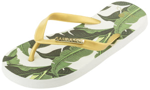 Kid's Fashion Collection Flip Flops - Banana Leaf Gold