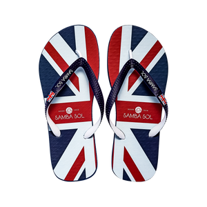 Men's Flag Collection Flip Flops - England