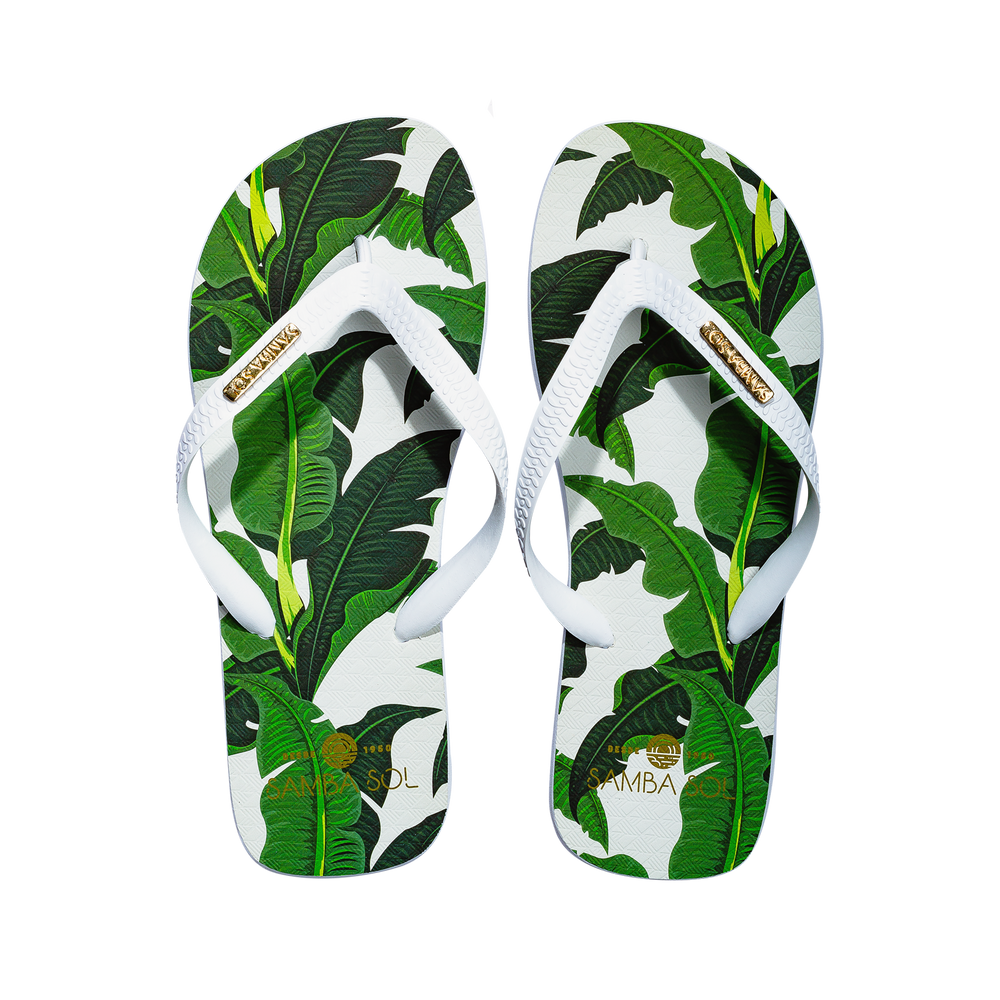 Mens Fashion Collection Banana Leaf Flip Flop
