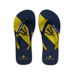 Men's Flag Collection Flip Flops- Barbados