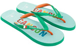 Men's Flag Collection Flip Flops - Cancun