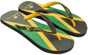 Men's Flag Collection Flip Flops - Jamaica