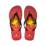 Men's Miami Collection Flip Flops - Sunset