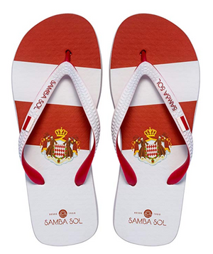 Samba Sol Women's Countries Collection Flip Flops