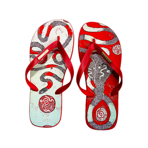 Samba Sol Men's YoungArts Collection Flip Flops - Panteha Abareshi-Samba Sol