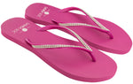 Women's Crystal Collection Flip Flops - Rosa