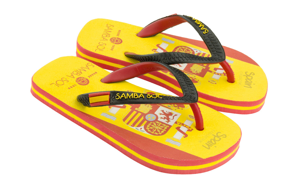 KID'S FLAG COLLECTION FLIP FLOPS - Spain