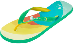 Samba Sol Men's Beach Collection Flip Flops - Surf-Samba Sol