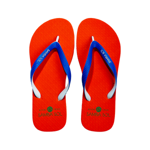 Men's Beach Collection Flip Flops - UF Blue/Orange