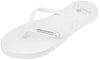 Crystal Collection Flip Flops - White Crystal