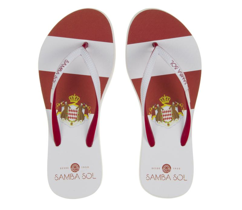 Samba Sol Women Countries Collection Flip Flops