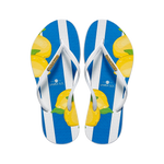 Samba Sol Women's Fashion Collection Flip Flops - Capri Lemon
