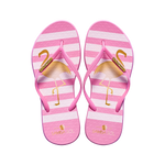Samba Sol Women's Fashion Collection Flip Flops - Flamingo