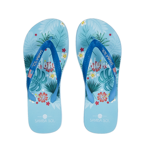 Samba Sol Men's Beach Collection Flip Fops - Hawaii-Samba Sol