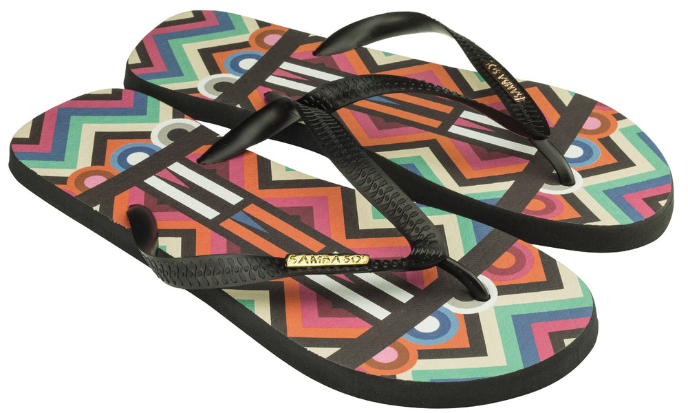 Men's Fashion Collection Flip Flops- Tribal