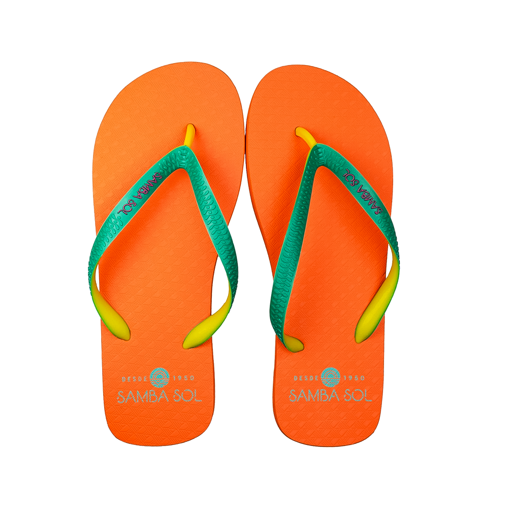 Men's Beach Collection Flip Flops - Orange