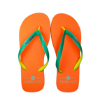 Samba Sol Men's Beach Collection Flip Flops - Orange