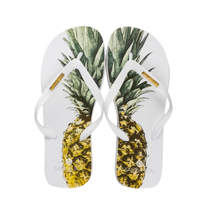 Samba Sol Men's Fashion Collection Flip Flop - Pineapple-Samba Sol