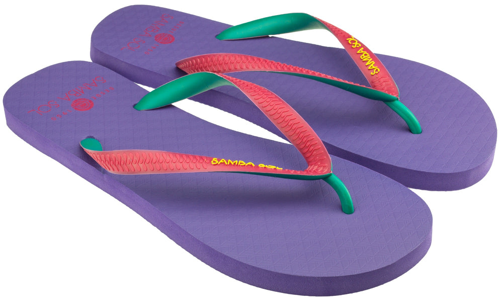 Men's Beach Collection Flip Flops - Purple