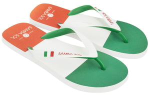 Samba Sol Men's Countries Collection Flip Flops - Italy-Samba Sol