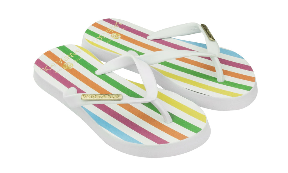 Samba Sol Kid's Fashion Collection Flip Flops - Paradigm
