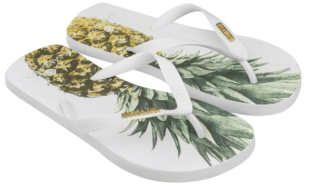 Men's Fashion Collection Flip Flop - Pineapple