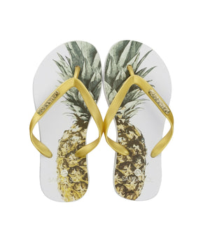 Kid's Fashion Collection Flip Flops - Pineapple
