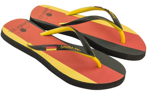 Women's Flag Collection Flip Flops - Germany