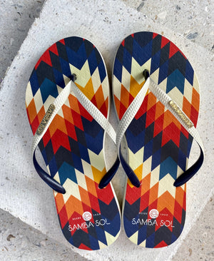 Samba Sol Women's Fashion Collection Flip Flops - Phoenix