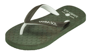 Samba Sol Kid's Beach Collection Flip Flops - Camo-Samba Sol