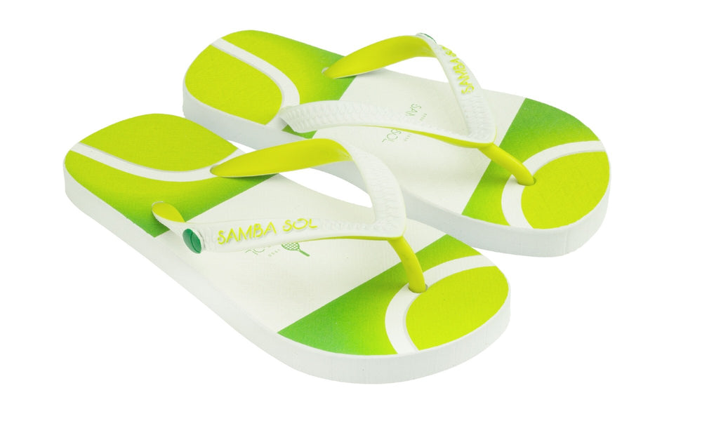 Samba Sol Kid's Beach Collection Flip Flops - Tennis-Samba Sol