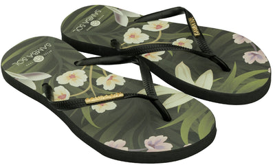 Women's Tulum Collection Flip Flops  - Flowers