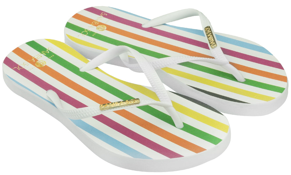 Samba Sol Women's Fashion Collection Flip Flops - Paradigm-Samba Sol