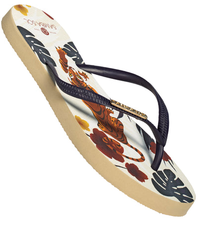 Women's Miami Collection Flip Flops - Tiger