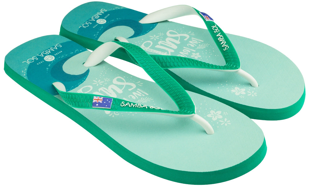Samba Sol Men's Beach Collection Flip Flops - Live Love Surf-Samba Sol
