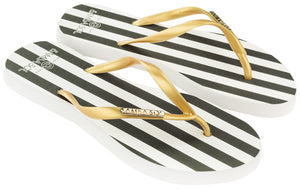 Women's Fashion Collection Flip Flops - Stripes