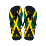 Samba Sol Men's Countries Collection Flip Flops - Jamaica