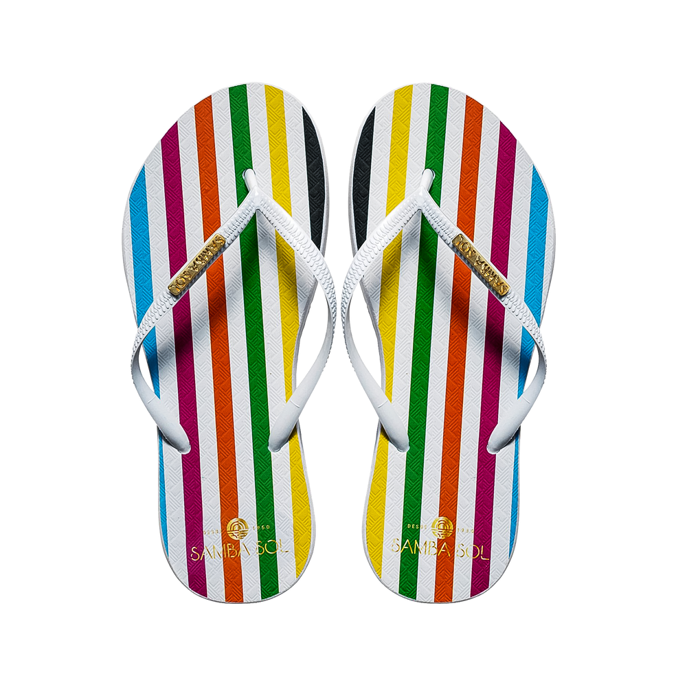 Samba Sol Women's Fashion Collection Flip Flops - Paradigm