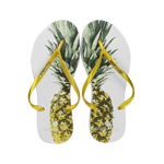 Women's Fashion Collection Flip Flop - Pineapple Gold Strap