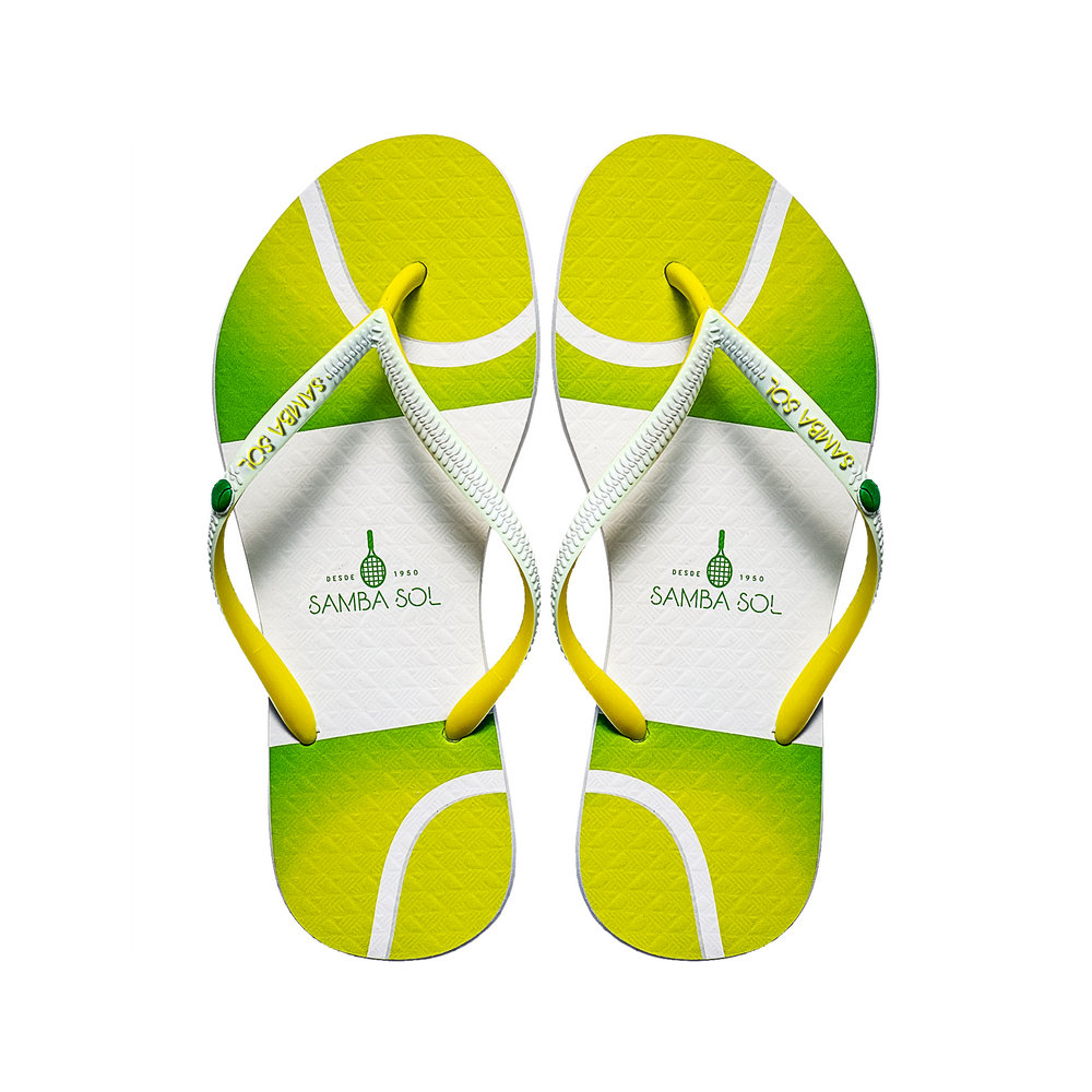 Samba Sol Women's Beach Collection Flip Flops - Tennis